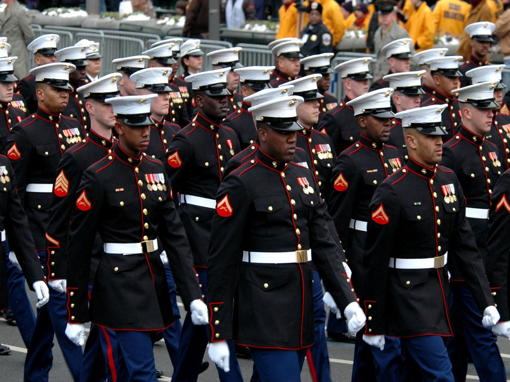 United States Marine Core Wool Uniforms
